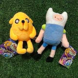 🚚 Adventure Time探險活寶耳機孔吊飾*阿寶與老皮