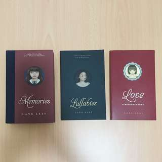 Lang Leav (Set of 3)