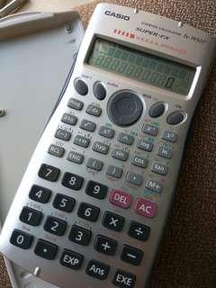Casio fx3950p 計數機 90%新
