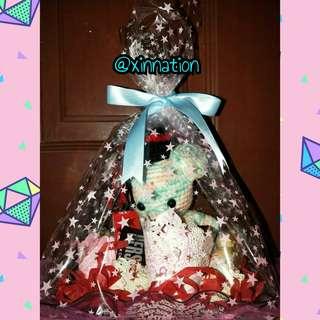 Handmade Hamper Gift Basket customize