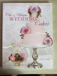 Chic & unique wedding cake