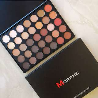Morphe 350 eyeshadow pallete