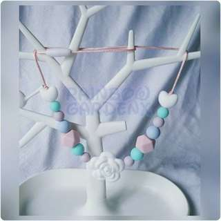 🚚 Pastel Beads Necklace