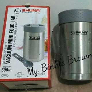 vacuum food jar shuma stainless steel 500ml