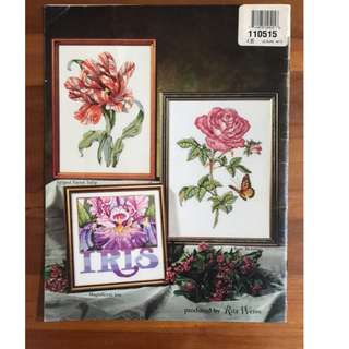Beautiful Blossoms - American School of Needlework -DIY Cross stitch design/pattern Counted Cross Stitch