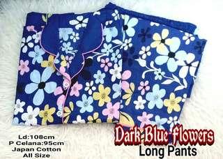 Piyama Celana Panjang Flower