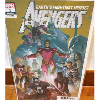 Avengers #1 1:50 Esad Ribic Variant - Sold Out - First Printing NM