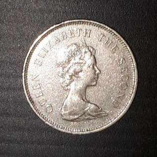 Old Coin Collection : Hong Kong Queen Elizabeth Dollar (Issue Year 1980)