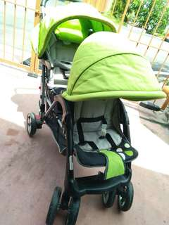 Double Stroller (Pre-Loved)