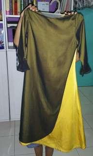 🚚 Executive Gold yellow black Jubah