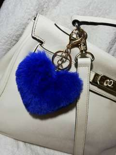 Heart Bag Charm (Royal Blue)