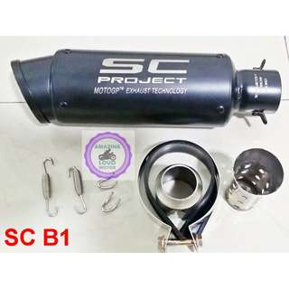 SC Project Muffler Exhaust Motorcycle 51mm Universal