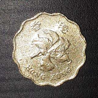 Old Coin Collection : Hong Kong  香港 20 Cents (Issue Year 1994)