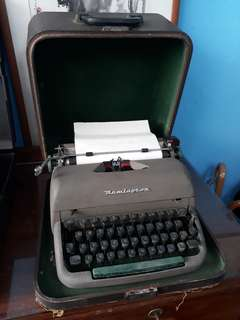 Vintage Typewriter. Remington