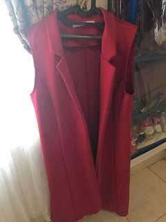 Long outer - Red