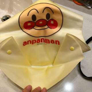 Bib plastik bahan halus Anpanman - Made in Japan