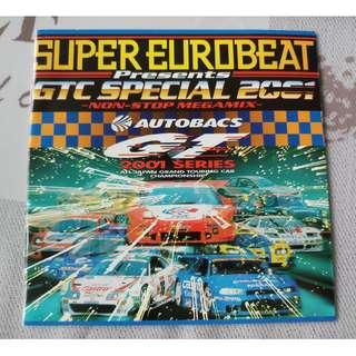SUPER EUROBEAT PRESENTS GTC SPECIAL 2001 CD