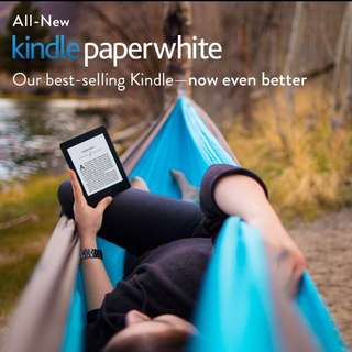 Preorder Amazon Kindle Paperwhite + 8000 ebooks + Kindle Pouch + Screen Protector