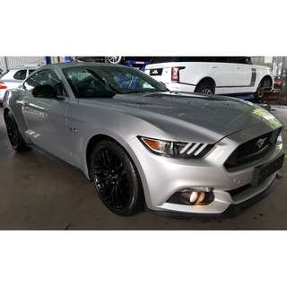FORD MUSTANG GT 5.0 V8 SHAKER AUDIO SILVER (A) RAYA OFFER UNREG 2017