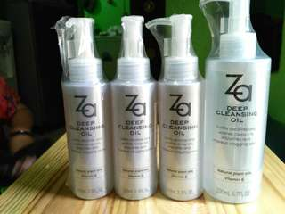 Cleansing Oil Za for Anti Aging