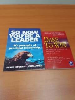 Dare to win / So now you're are a leader