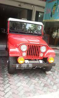 Jeep CJ5 Long Tahun 1969 Mayer Cab