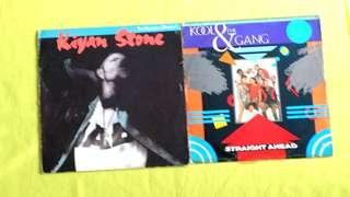 KOOL & THE GANG ● KIYAN STONE . straight ahead (long vision) / the principal moment. ( buy 1 get 1 free )  vinyl record