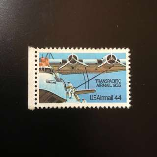 Stamp - USA 1985 - Transpacific Airmail 1935 USAirmail 44 cent (MUH)