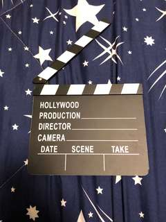 Action Board(Clapperboard)