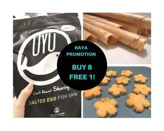 Raya snacks and cookies promo!