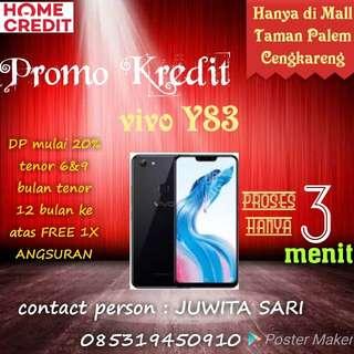 Vivo Y83 promo tenor 6 bulan proses 3 menit