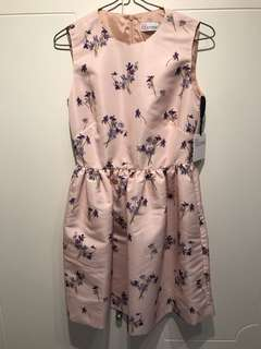 New Red Valentino floral pattern dress sz38