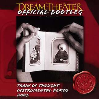 Dream Theater – Official Bootleg: Train Of Thought Instrumental Demos 2003 CD
