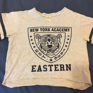 🚚 灰色老虎T恤