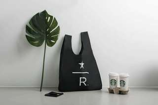 #ramadan50 🆕Starbucks Reserve™ BAGGU® Reusable Bag