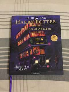 HARRY POTTER AND THE PRISONER OF AZKABAN - ILLUSTRATED EDITION - JK ROWLING