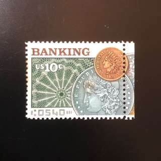 Stamp - USA 1975 - Banking (MUH)