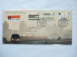 Singapore registered FDC MRT