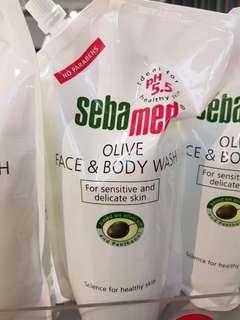 Sebamed Olive Face & body wash