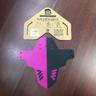 New: AMS Mud Guard Magenta colour. All Mountain Style