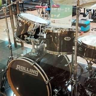 Drum Rolling JB 2226 Bk ( Kredit )