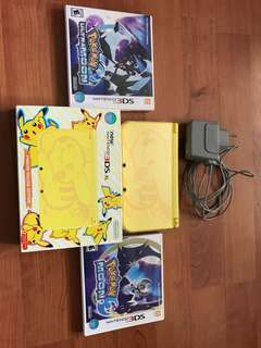 Nintendo New 3DS XL Pikachu Limited Edition