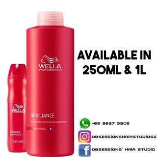 Wella Brillance Color Shampoo