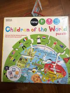 Puzzles Children of the world Marks and Spencer