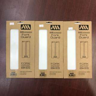 New: AMS Honeycomb Fork Guard. CLEAR