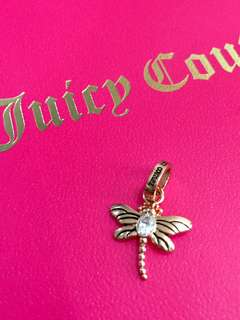 Juicy Couture 蜻蜓吊墜