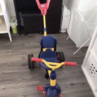 Little tikes 3-in-1 tricycle