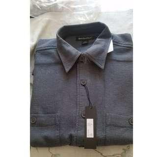 "Men Shirt ""Grey"" M 恤衫"