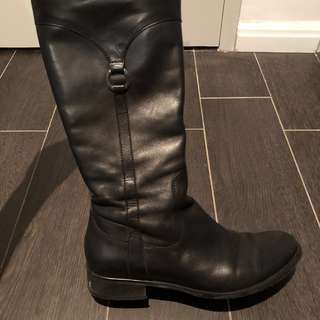 Genuine Turkish Leather Boots • size 38