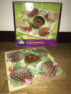 ELC prickly hedgehogs counting game
